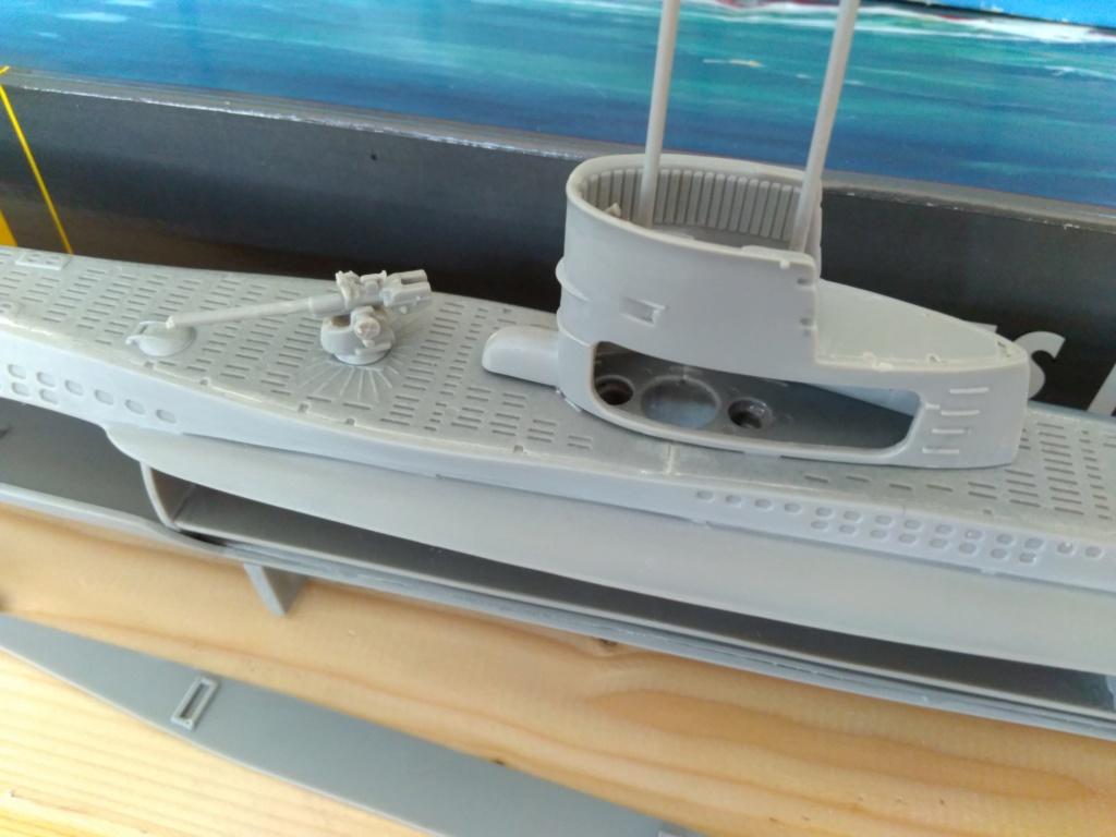 German U-Boot U-47 de Günther Prien avec intérieur  Img_2090