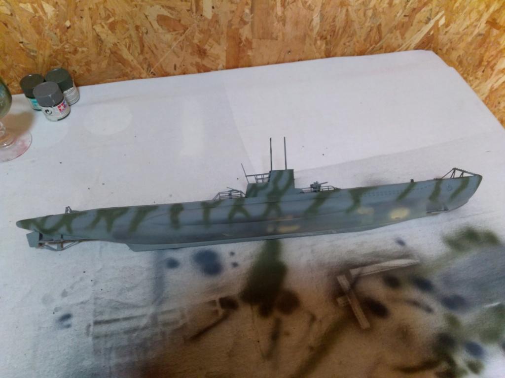 German U-Boot U-47 de Günther Prien avec intérieur  - Page 2 Img_2286