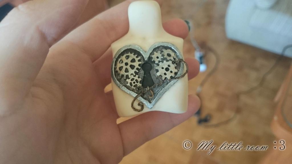 Luts Honey Delf poitrine pièce custom: steampunk coeur (NS) Odom3p10