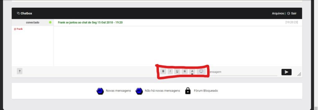 Expandir e Personalizar ChatBox Captur11