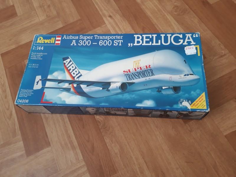 "Montage Airbus A300-600ST""BELUGA""  Maquette de 1997 20180936"