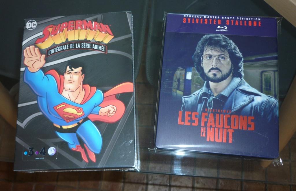 voitures de collection Batman Eaglemoss + blu ray steelbooks et autres collectors P1040750