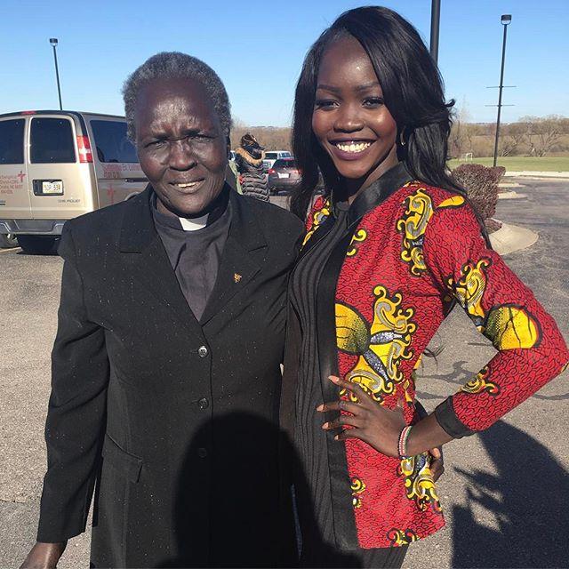 Son los Sursudaneses las personas con la piel más oscura del mundo? Nyakim12