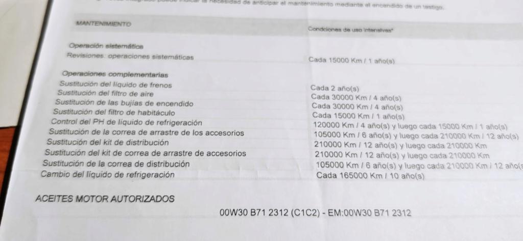 Mantenimiento periodico Peugeot 3008 HDI gt line Manten10