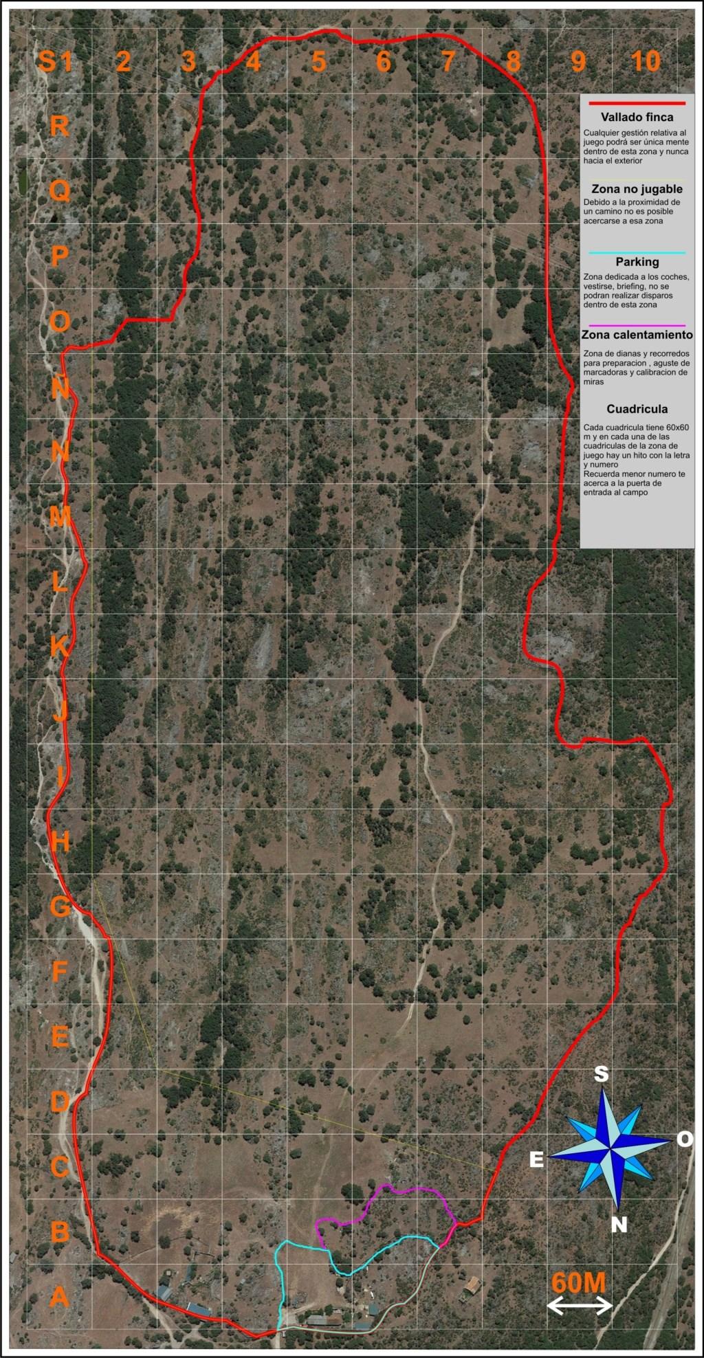 Elaboración nuevo mapa Camp Norton 2019 Mapa_h10