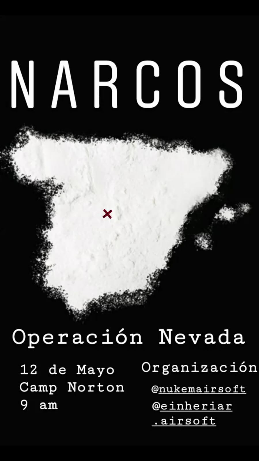 Narcos Domingo 12 Mayo 2019 By Nukemairsoft & eriheriar.airsoft Narcos10