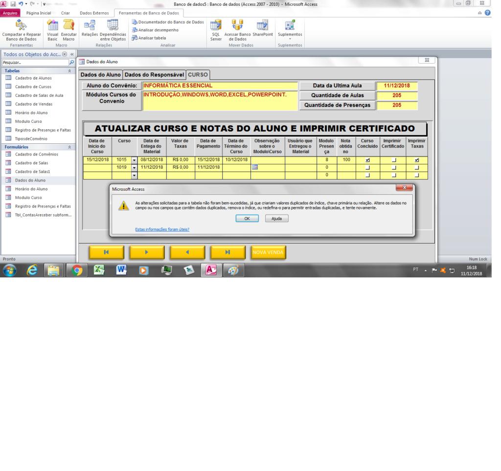 [Resolvido]Valores duplicados em formulário Tela_c10