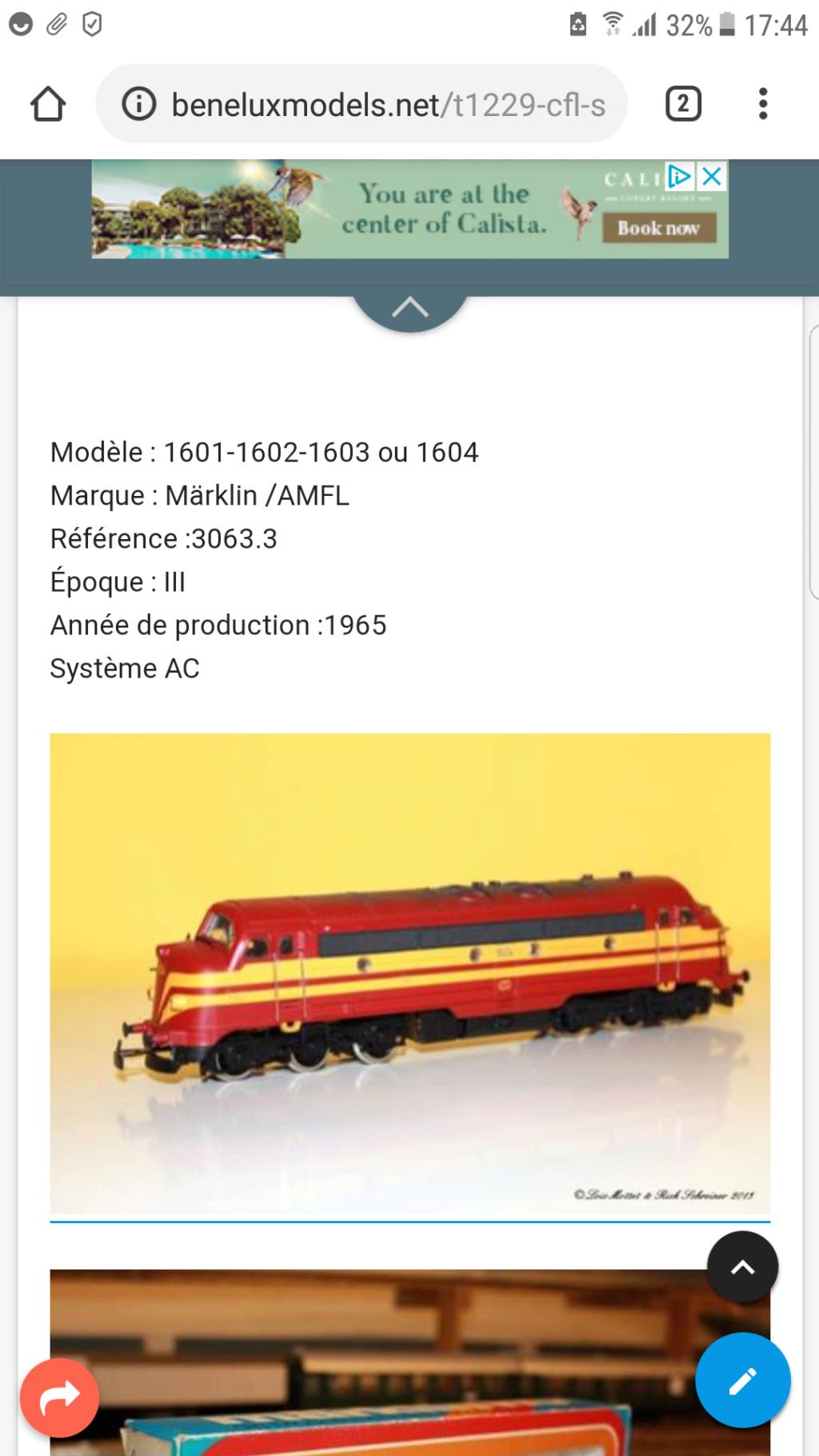 CFL 1604 Märklin/AMFL Screen12