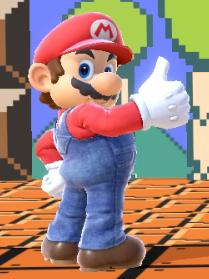 01 - Mario moves Pose10