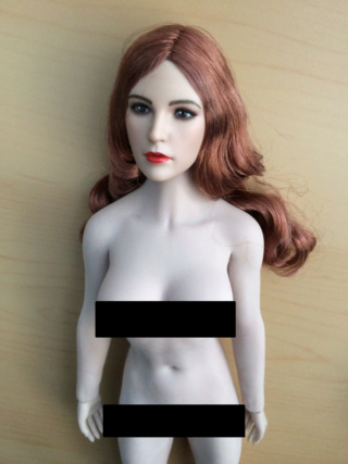 NEW PRODUCT: YMTOYS new product 1 / 6 European and American hair beauty head carving dream ~ YMT011 Edit_210
