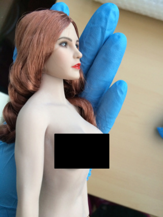 NEW PRODUCT: YMTOYS new product 1 / 6 European and American hair beauty head carving dream ~ YMT011 Edit_311