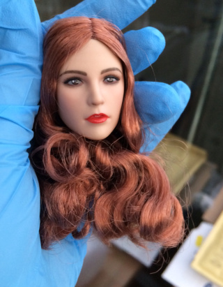 NEW PRODUCT: YMTOYS new product 1 / 6 European and American hair beauty head carving dream ~ YMT011 Edit_410