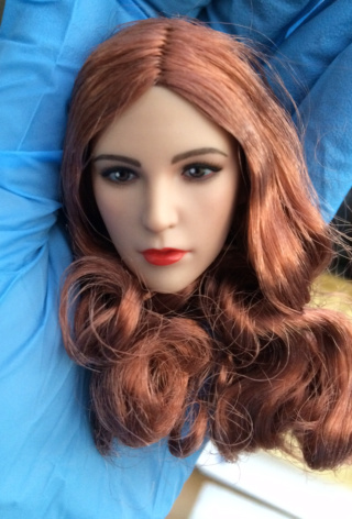 NEW PRODUCT: YMTOYS new product 1 / 6 European and American hair beauty head carving dream ~ YMT011 Edit_710