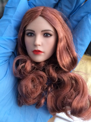 NEW PRODUCT: YMTOYS new product 1 / 6 European and American hair beauty head carving dream ~ YMT011 Edit_810