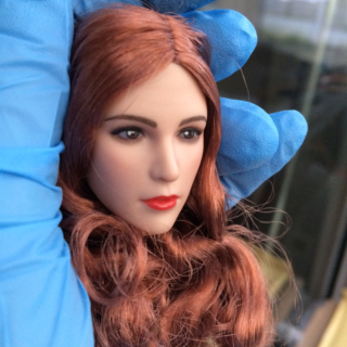 NEW PRODUCT: YMTOYS new product 1 / 6 European and American hair beauty head carving dream ~ YMT011 Img_7710