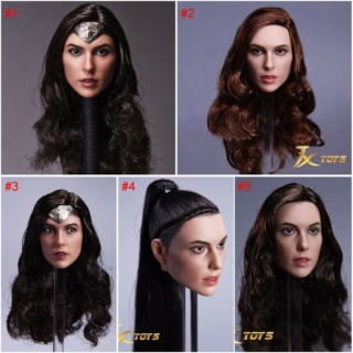 WonderWoman - Hot Toys Wonder Woman training armor headsculpt S-l16014