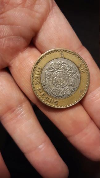 10 pesos mexico 2004 20190116