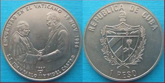 1 peso cuba 1997 2610