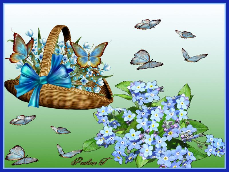 Défi du 25 Octobre / Panier & Papillons Sans_t14