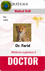 [C.H.U] Rapports d'actions RP de Farid: Idcard12