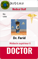 [C.H.U] Rapports d'actions RP de Farid: Idcard19