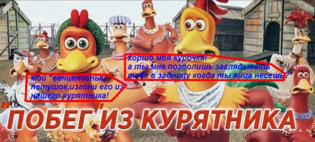 """Побег"" из курятника! Eaia_217"