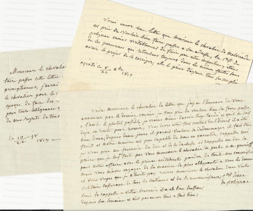 Lettres de Diane de Polignac S-l16010
