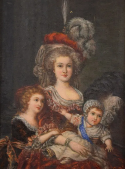 Portrait Marie Antoinette et ses enfants par Elisabeth Louise Vigée Lebrun - Page 2 Zzzz10