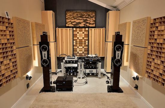 Full Frequency Wood Acoustic Diffuser FRATAL PYRAMID 36 (NEW) 096d3c18