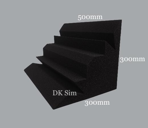Acoustic Foam BASS TRAP HEXAGON (NEW) Bt_hex10