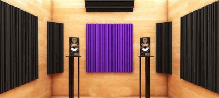 Acoustic Foam BASS TRAP FLAT (NEW) Do-foa15