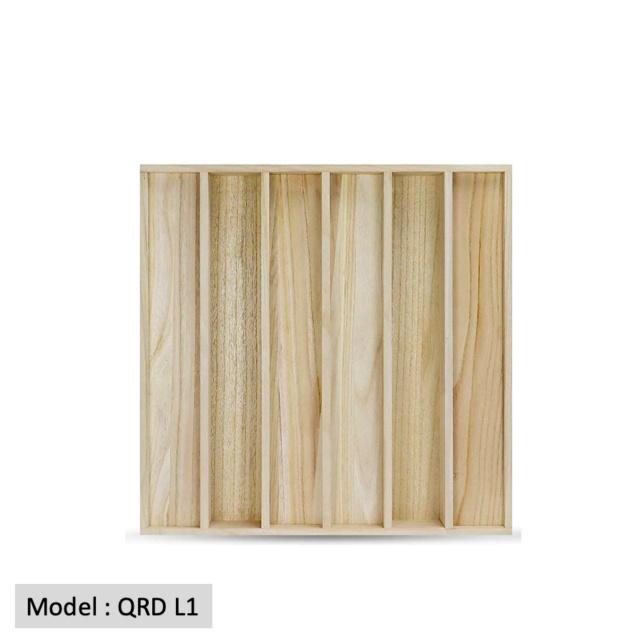 Full Frequency Wood Acoustic Diffuser QRD L1 (NEW) Qrd_l112