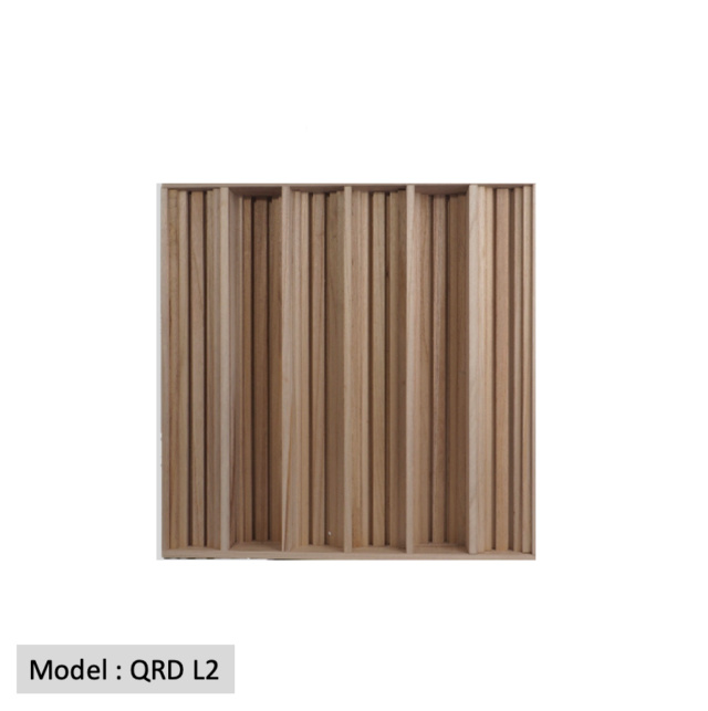 Full Frequency Wood Acoustic Diffuser QRD L2 (New) Qrd_l215