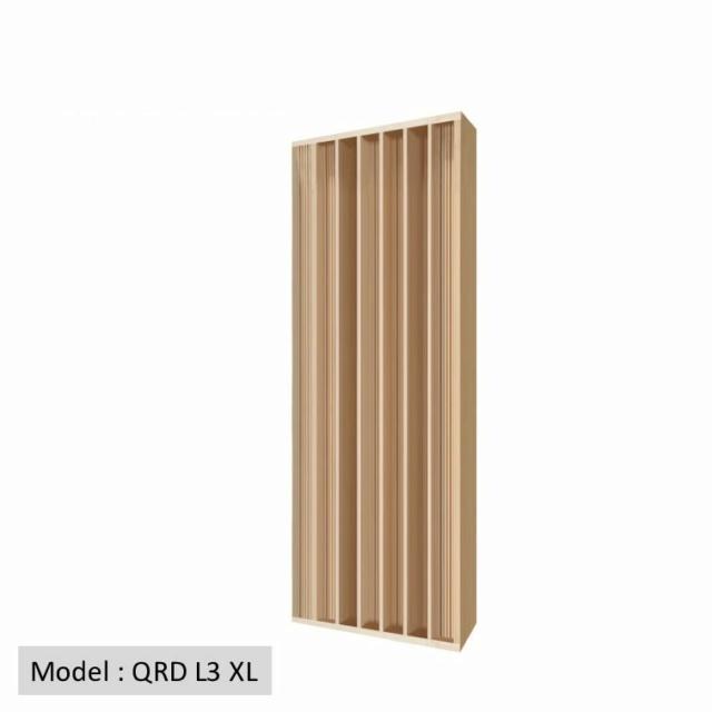 Full Frequency Wood Acoustic Diffuser QRD L3 XL (New) Qrd_l310