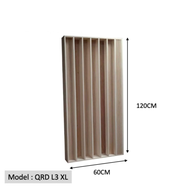 Full Frequency Wood Acoustic Diffuser QRD L3 XL (New) Qrd_l311