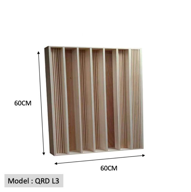 Full Frequency Wood Acoustic Diffuser QRD L3 (New) Qrd_l315