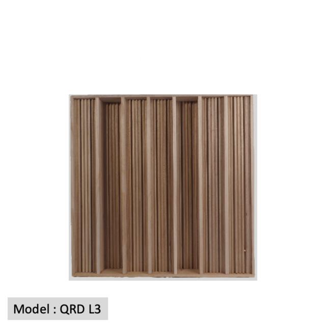 Full Frequency Wood Acoustic Diffuser QRD L3 (New) Qrd_l316
