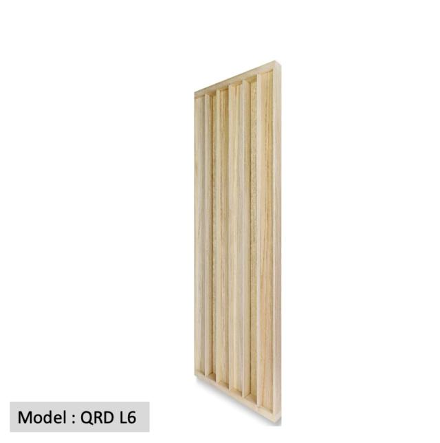 Full Frequency Wood Acoustic Diffuser QRD L6 (New) Qrd_l612