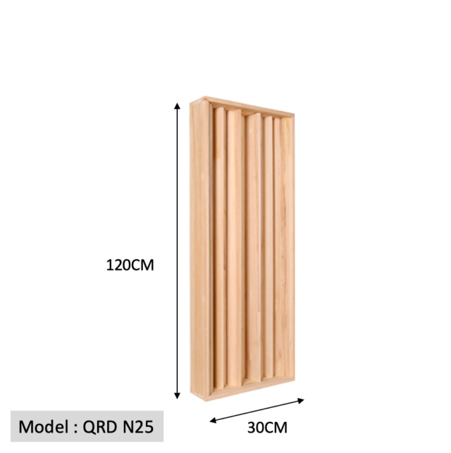 Full Frequency Wood Acoustic Diffuser QRD N25 120-30 (New) Qrd_n211