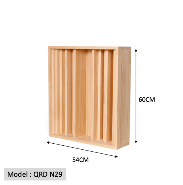 Full Frequency Wood Acoustic Diffuser QRD N29 60-54 (New) Qrd_n213