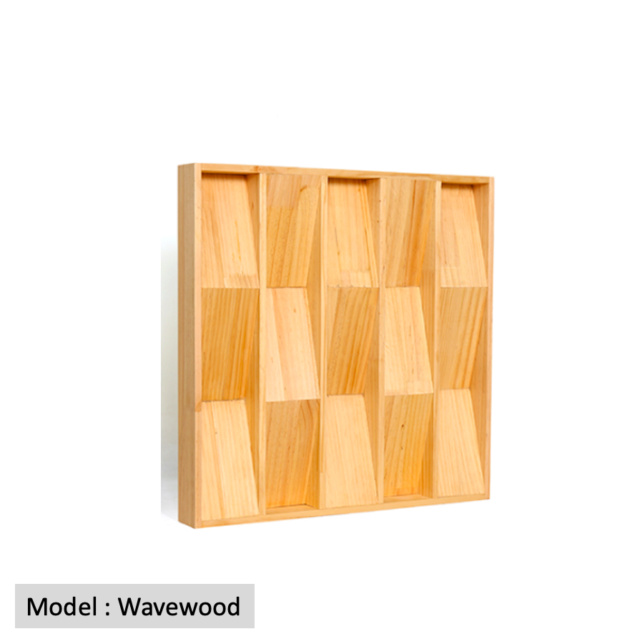 Full Frequency Wood Acoustic Diffuser WAVEWOOD (New) Qrd_wa13