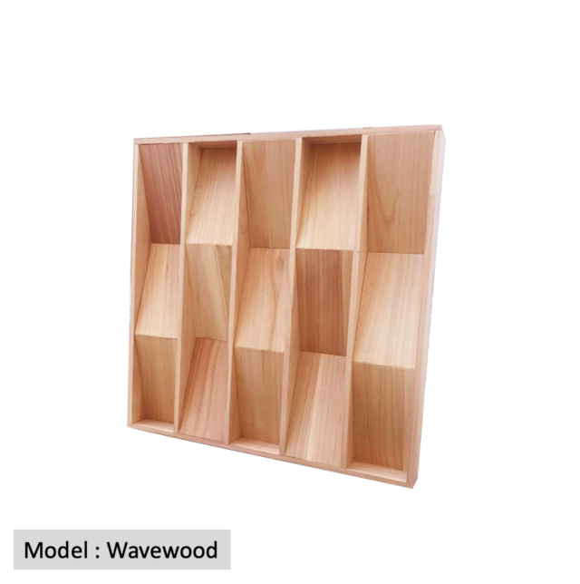 Full Frequency Wood Acoustic Diffuser WAVEWOOD (New) Qrd_wa14