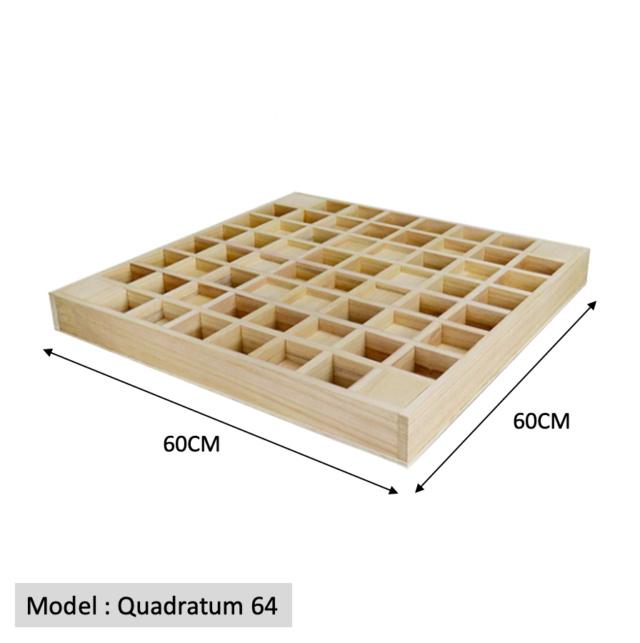 Full Frequency Wood Acoustic Diffuser QRD QUADRATUM SQUARE 64 (New) Quadra13