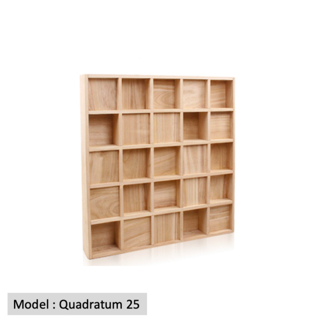 Full Frequency Wood Acoustic Diffuser QUADRATUM SQUARE 25 (New) Quadra17