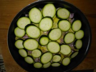 Gratin de courgettes et pommes de terre  88230710