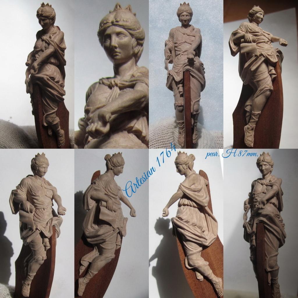 Fabrication de sculptures et décoration en bois pour voiliers. Collag11