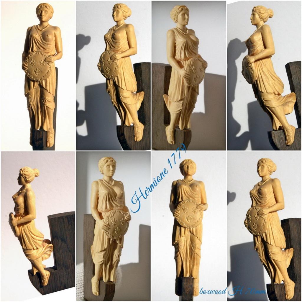 Fabrication de sculptures et décoration en bois pour voiliers. Hermio10
