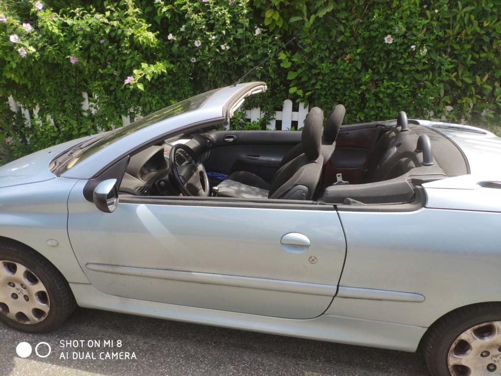 Vends en l'état ou pièce 206 cc, 1,6l, 110CV Img_2010