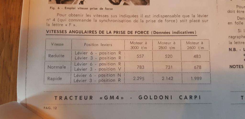 Tracteur GOLDONI GM4-L30 20200911