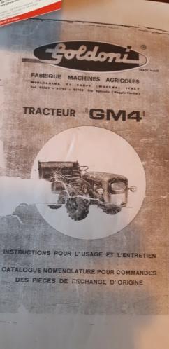 Tracteur GOLDONI GM4-L30 20200912